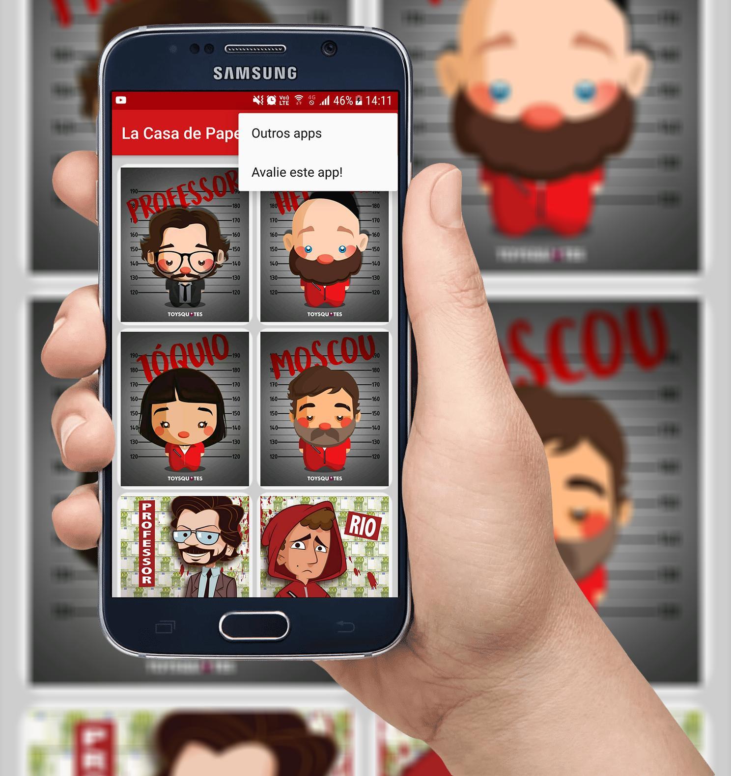Money Heist La Casa de Papel - Mobile Wallpapers for Android - APK