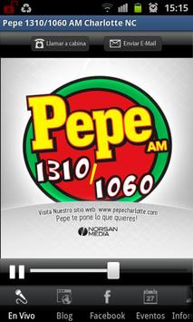 Pepe 1310/1060 AM poster
