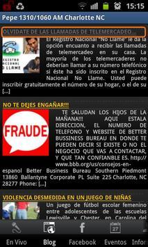 Pepe 1310/1060 AM screenshot 1