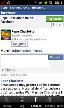 Pepe 1310/1060 AM screenshot 2
