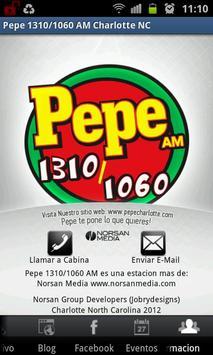 Pepe 1310/1060 AM screenshot 4