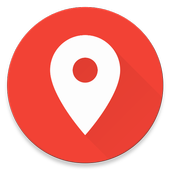 Share GPS Location Coordinates by Google Maps link icon