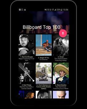 Shwaz - Get Billboard Top 100 apk screenshot