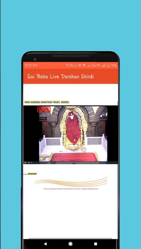 Sai Baba Live Darshan Shirdi for Android - APK Download
