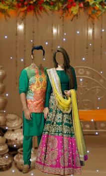 Wedding Couple Photo Suit - Traditional Dress screenshot 2