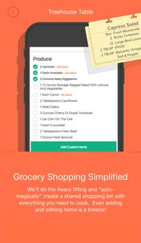 Treehouse Table Meal Planner apk screenshot