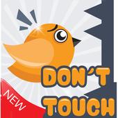 bird dodge the spikes icon