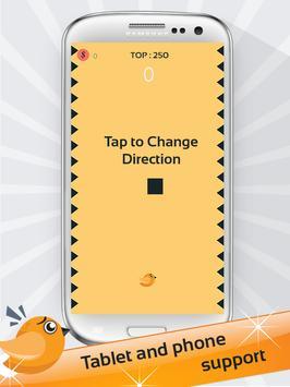 bird dodge the spikes apk screenshot