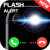 Flashlight on Call & Sms 2018 icon