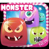 jelly monster blast icon