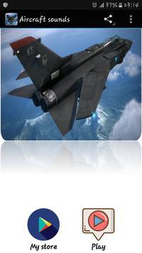 Aircraft sounds poster