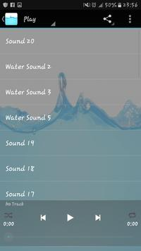 Water sounds apk screenshot