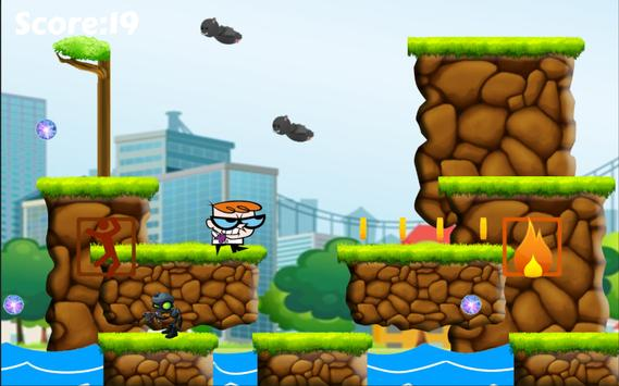 Super Dexter Robo Adventure apk screenshot