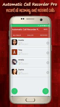 📞 Automatic Call Recorder Pro poster