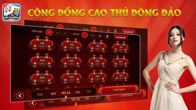 """GAME QKA"" Game Bai Doi Thuong apk screenshot"