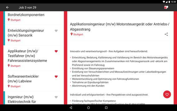 FERCHAU Job apk screenshot