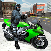 Moto Shooter 3D icon