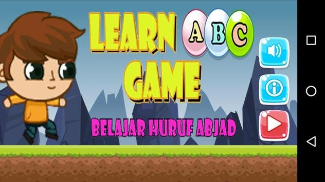 Learn ABC Game poster