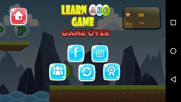 Learn ABC Game screenshot 5