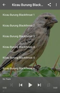 Kicau Burung Blackthroat apk screenshot