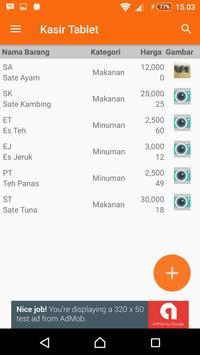 Kasir Tablet screenshot 3