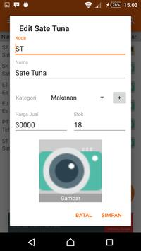 Kasir Tablet screenshot 4