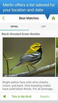 Merlin Bird ID screenshot 3