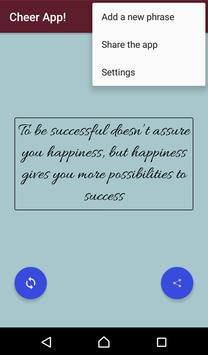 Cheer App! apk screenshot