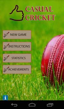 Casual Cricket apk screenshot