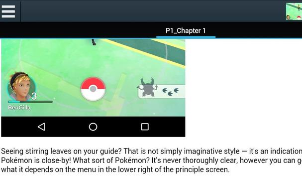 tips and tricks for Pokemon Go apk screenshot