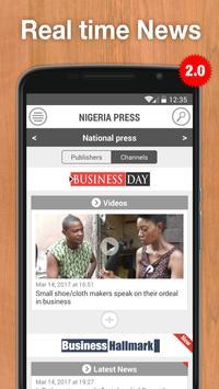 Nigeria Press poster