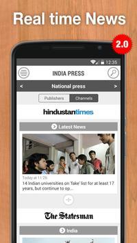 India Press poster