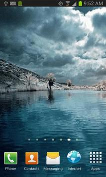 Lagoon Water Free LWP apk screenshot