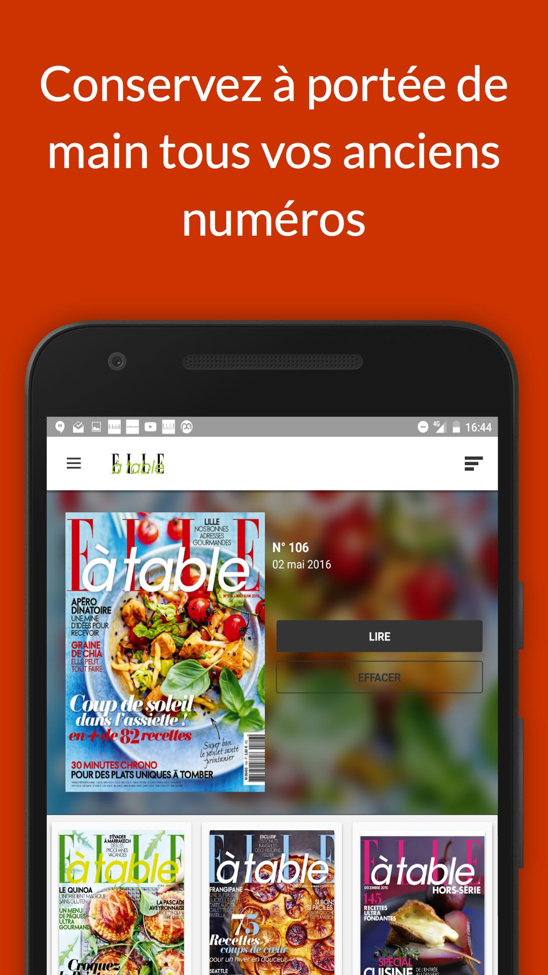 ELLE à table Magazine for Android - APK Download