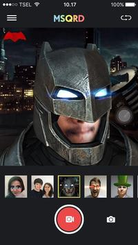 Cam MSQRD Face Selfie poster