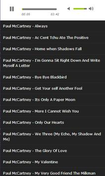 Best Paul MCCartney Song apk screenshot