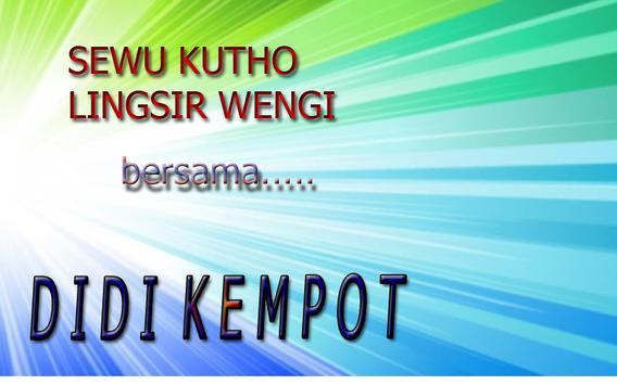 Didi Kempot~ spesial campursari poster