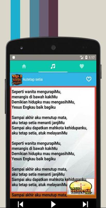 Download mp3 gratis lagu rohani terbaru.