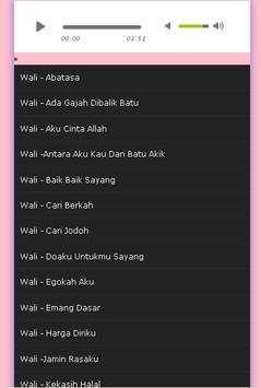Wali song screenshot 3