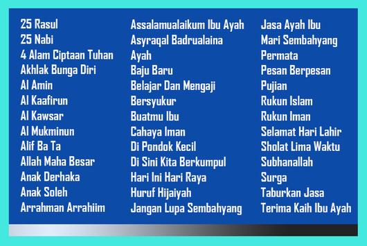 Qasidah Anak Nasyid Mp3 apk screenshot