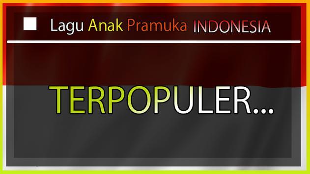 Lagu PRAMUKA Anak Indonesia (OFFLINE) screenshot 2