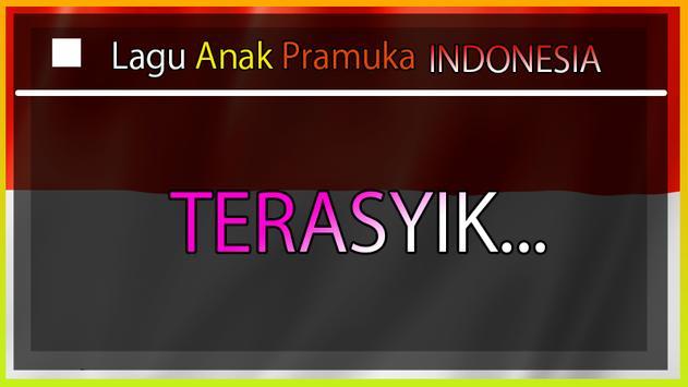 Lagu PRAMUKA Anak Indonesia (OFFLINE) screenshot 3