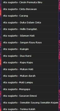 a collection of songs rita sugiarto mp3 screenshot 4
