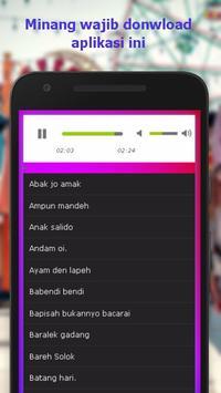 Lagu Minang Mp3 Populer screenshot 1