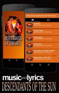 Lagu Descendants Of The Sun poster