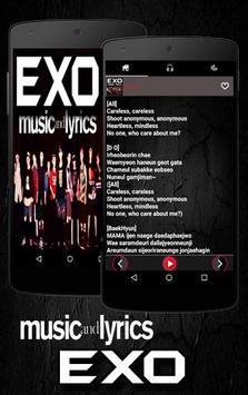 Exo Song apk screenshot