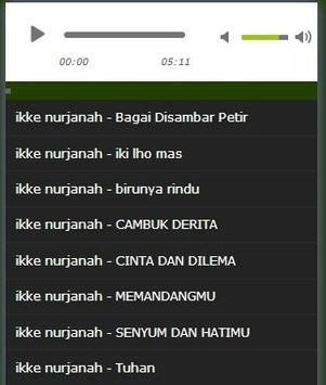 old song ikke nurjanah complete poster