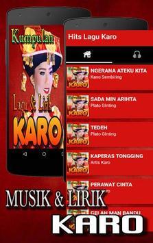 Lagu Karo poster