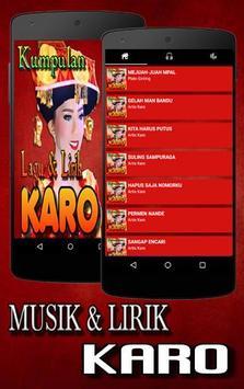 Lagu Karo screenshot 3