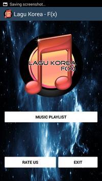 Lagu Korea - F(x) poster